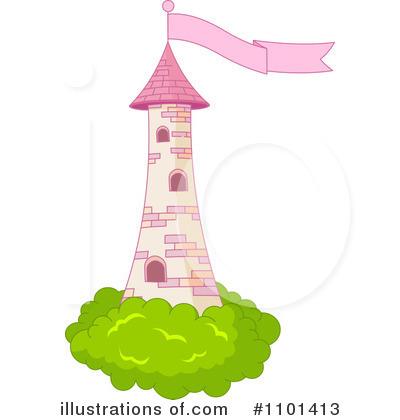 Rapunzel Tower Clipart.