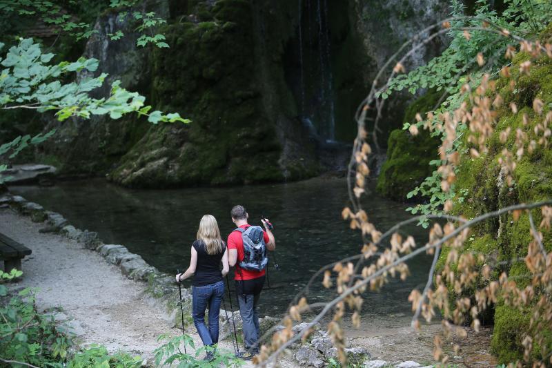 Wasserfallsteig Bad Urach.