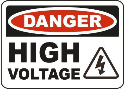 High Voltage Logo.