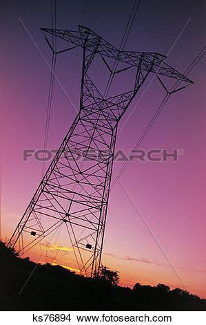 Stock Photo of Power & Energy, Charge, Communication, Electric.