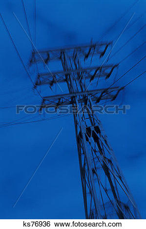 Stock Images of Power & Energy, Electric, Energy, High Voltage.
