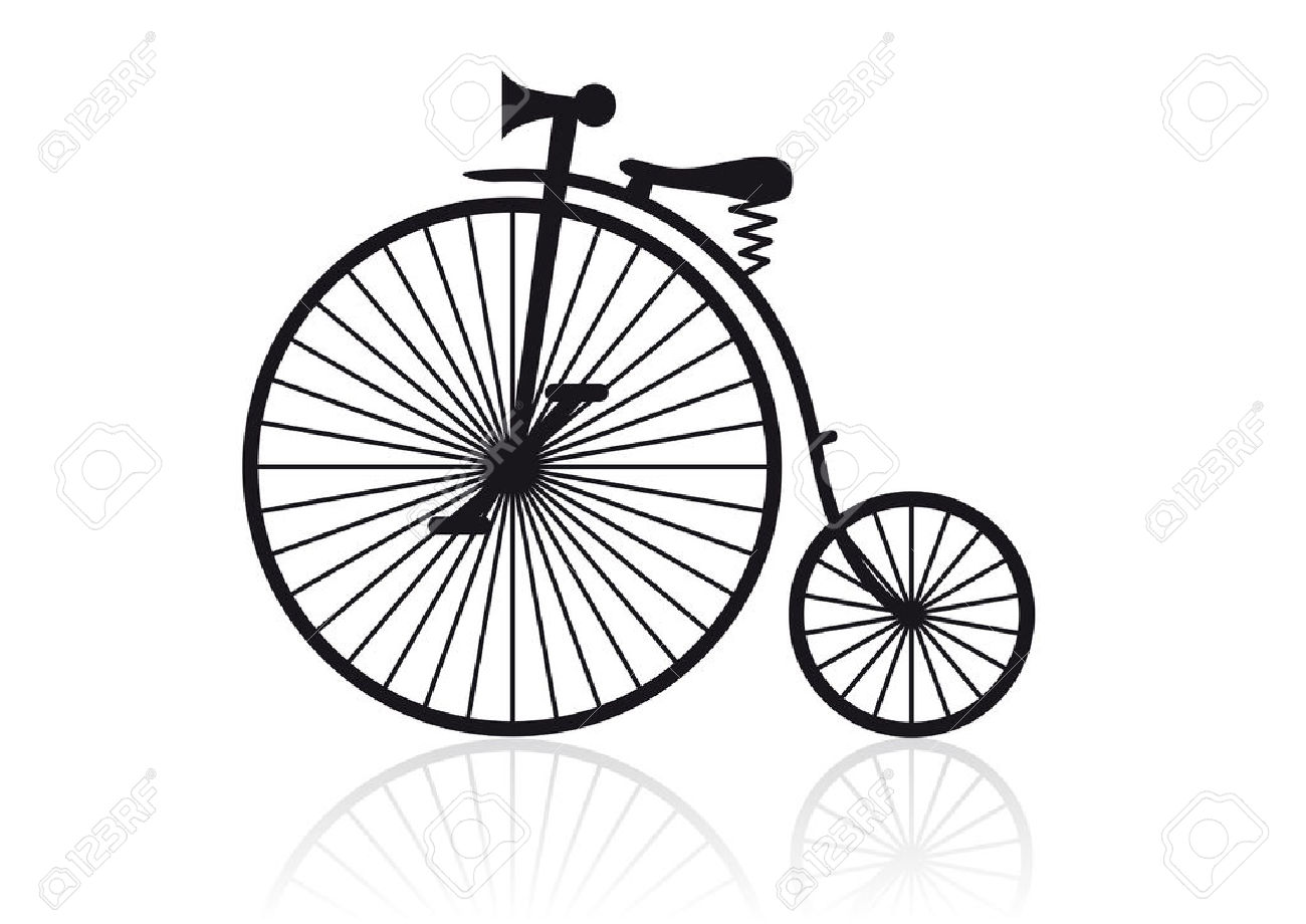 High Wheel Bicycle Royalty Free Cliparts, Vectors, And Stock.