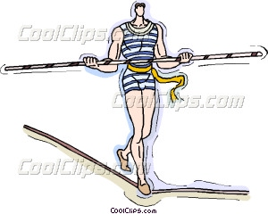 Images of High Wire Circus Acts Clip Art.