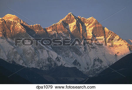Stock Photograph of Highest mountain of the world.