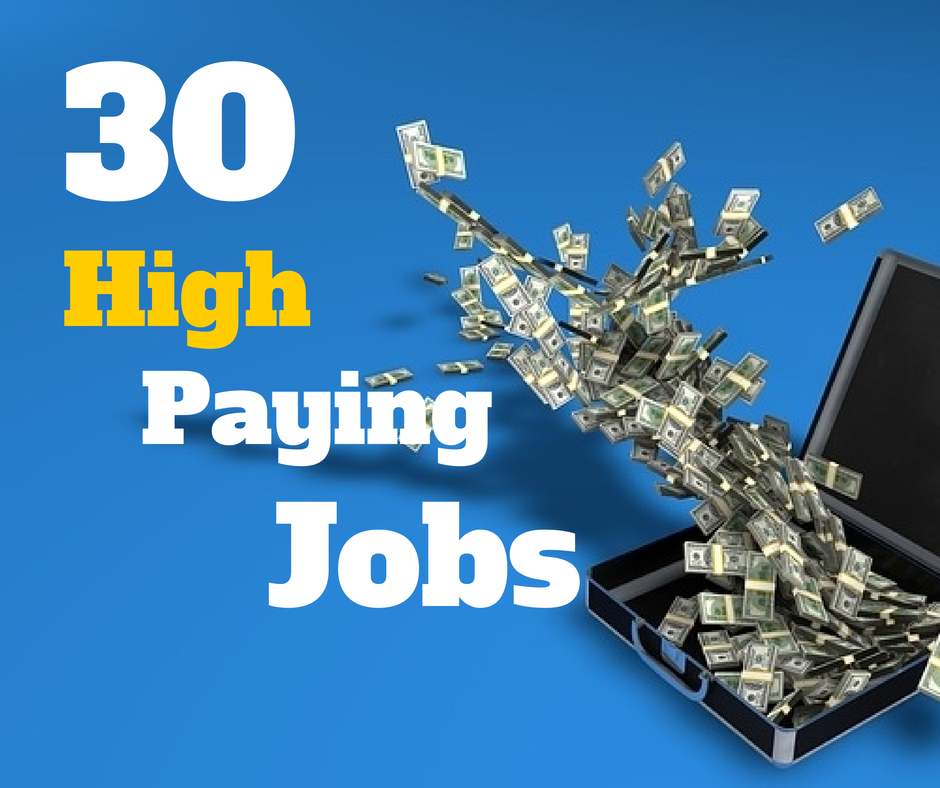 Top 30 Highest Paying Jobs or Careers in the World.