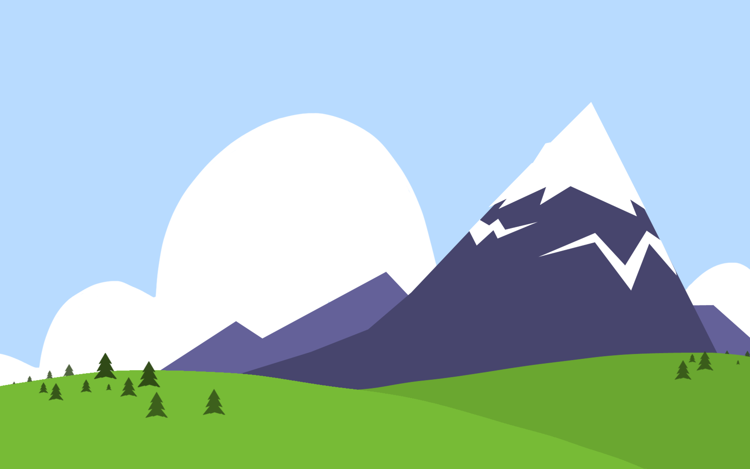 Mountain clipart background.