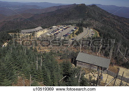 Stock Photograph of NC, North Carolina, Mt. Mitchell (6684 feet.
