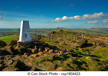 Stock Photos of Trigg Point on The Roaches.