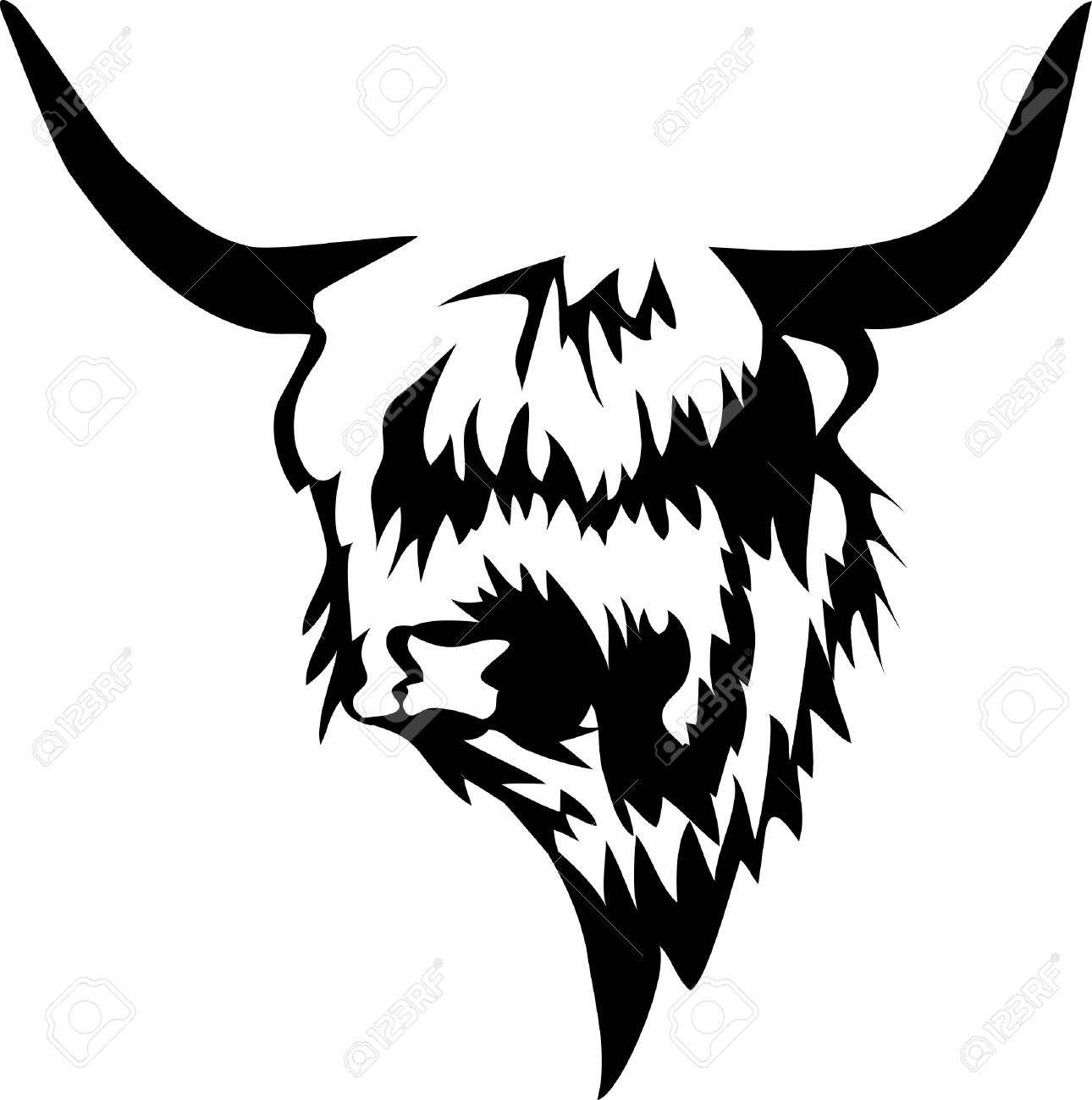 Head Of Highlander Royalty Free Cliparts, Vectors, And Stock.