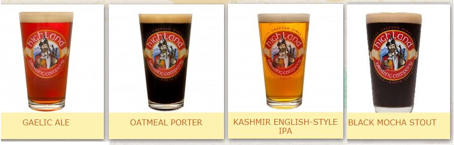 Highland Brewing.