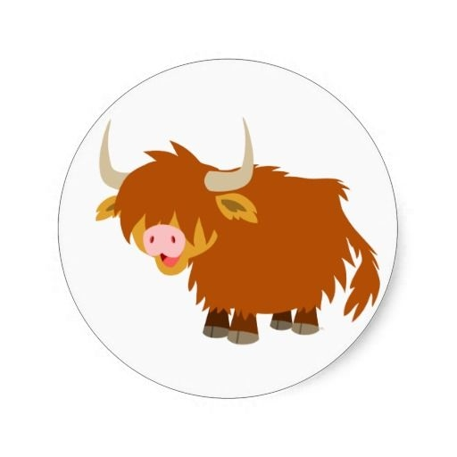 Highland Cow Clipart.