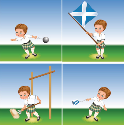 Highland Games Clip Art, Vector Images & Illustrations.