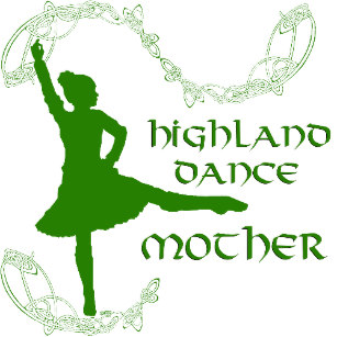Highland Dance Stickers & Labels.