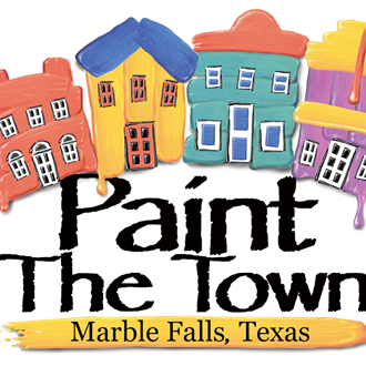 "Highland Lakes Creative Arts ""Paint the Town""."