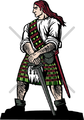 Highlander Clipart and Vectorart: Sports Mascots.