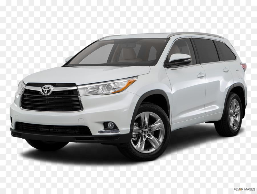 2017 Toyota Highlander Land Vehicle png download.