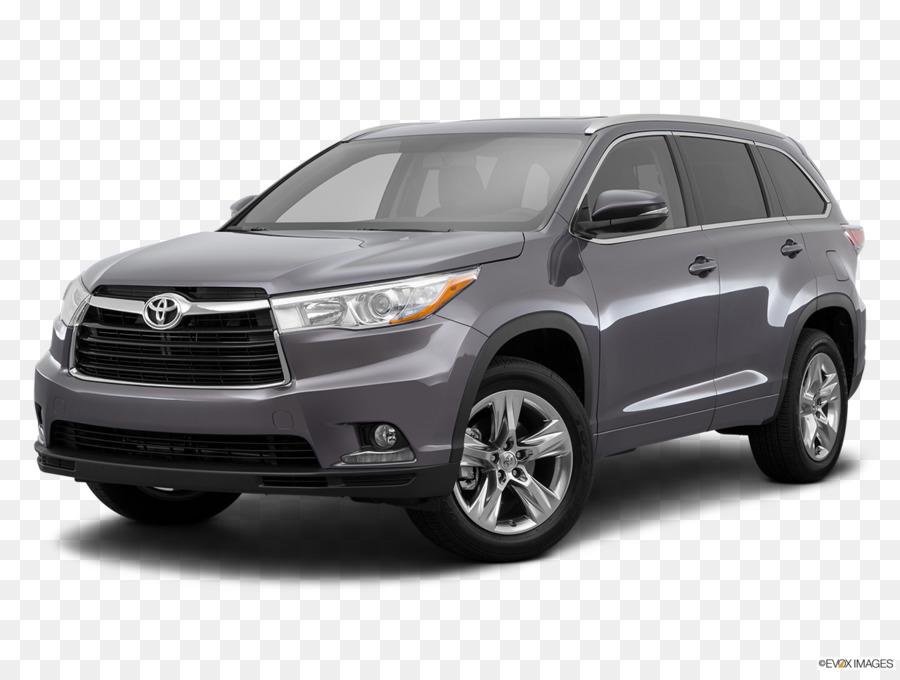 2016 Toyota Highlander Vehicle png download.