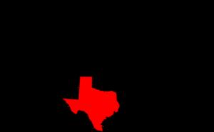 Usa Mainland With Texas Highlighted Clip Art at Clker.com.