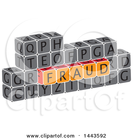 Clipart of a Highlighted Word, Survey, in Alphabet Letter Blocks.