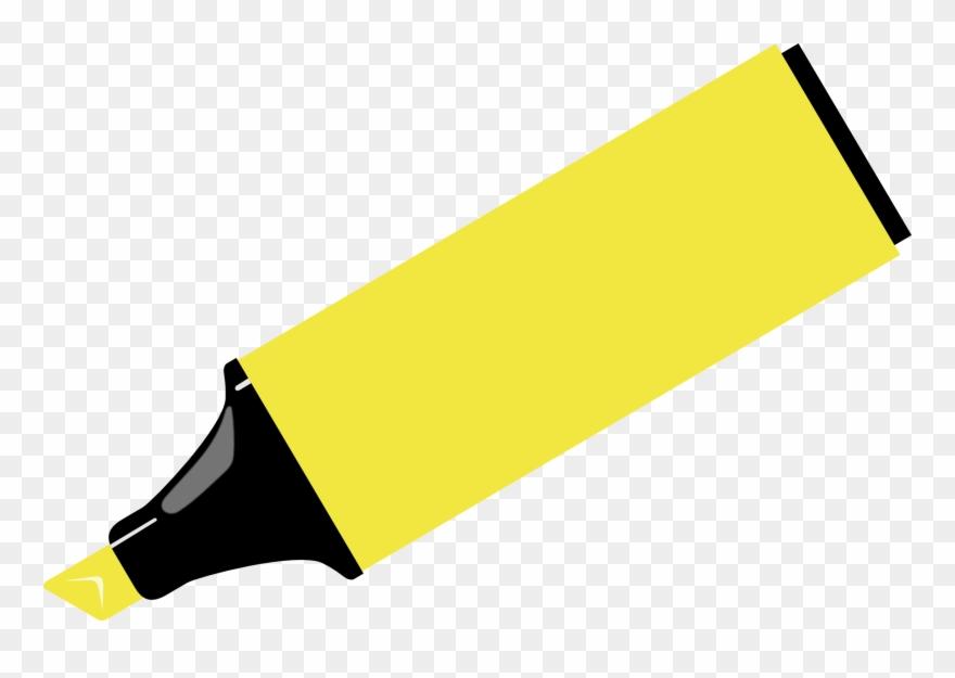 Marker Pen Drawing Highlighter Clip Art.