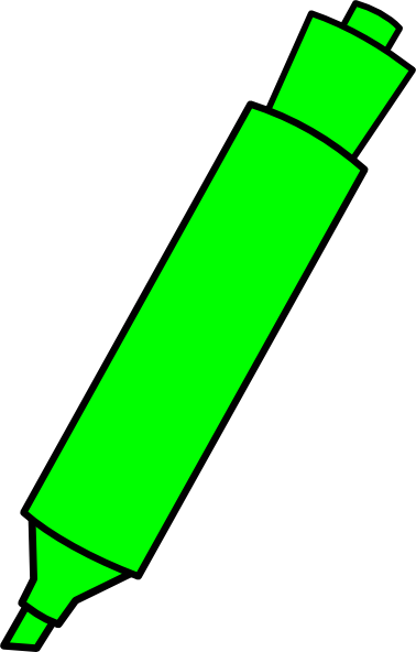 Collection of Highlighter clipart.