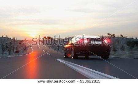 High Performance Car Stock Photos, Royalty.