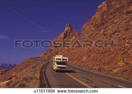 Stock Photo of AZ, Arizona, Navajo Indian Reservation along Route.