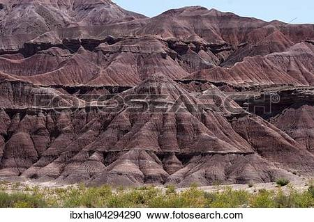 Stock Photography of Rote Gesteinsformation, Erosion, am U.S..