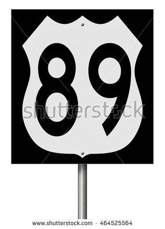 Highway 89 Stock Photos, Royalty.