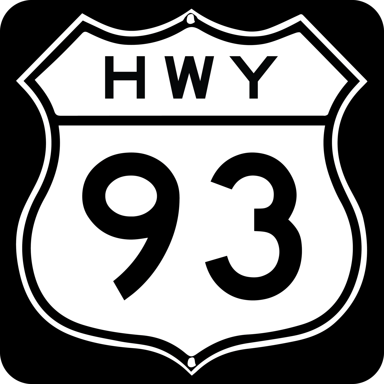 Highway 93.