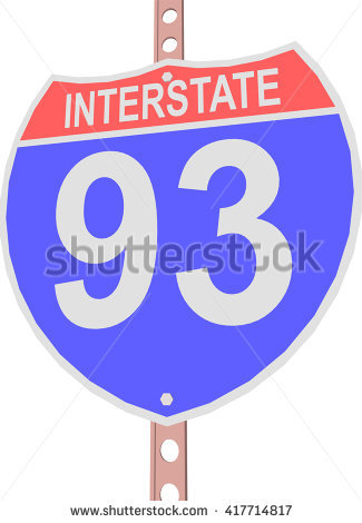Highway 93 Stock Photos, Royalty.