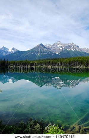 Rocky Mountains Canada Foto, immagini royalty.