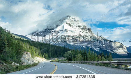Rocky Mountains Canada Stock Images, Royalty.