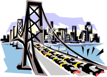 Gallery For > Highway Bridge Clipart.