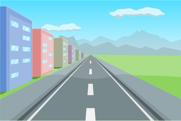 Highway clipart images.