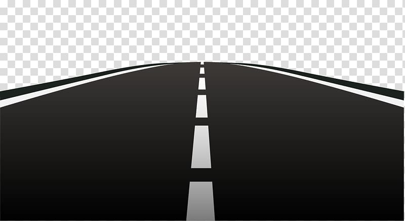 Road illustration, Black Brand , highway road transparent.