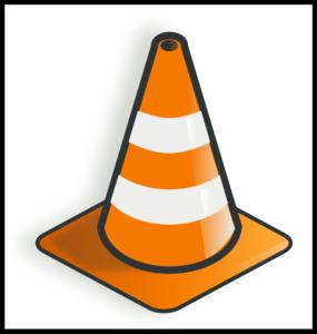Cone Traffic Clip Art at Clker.com.