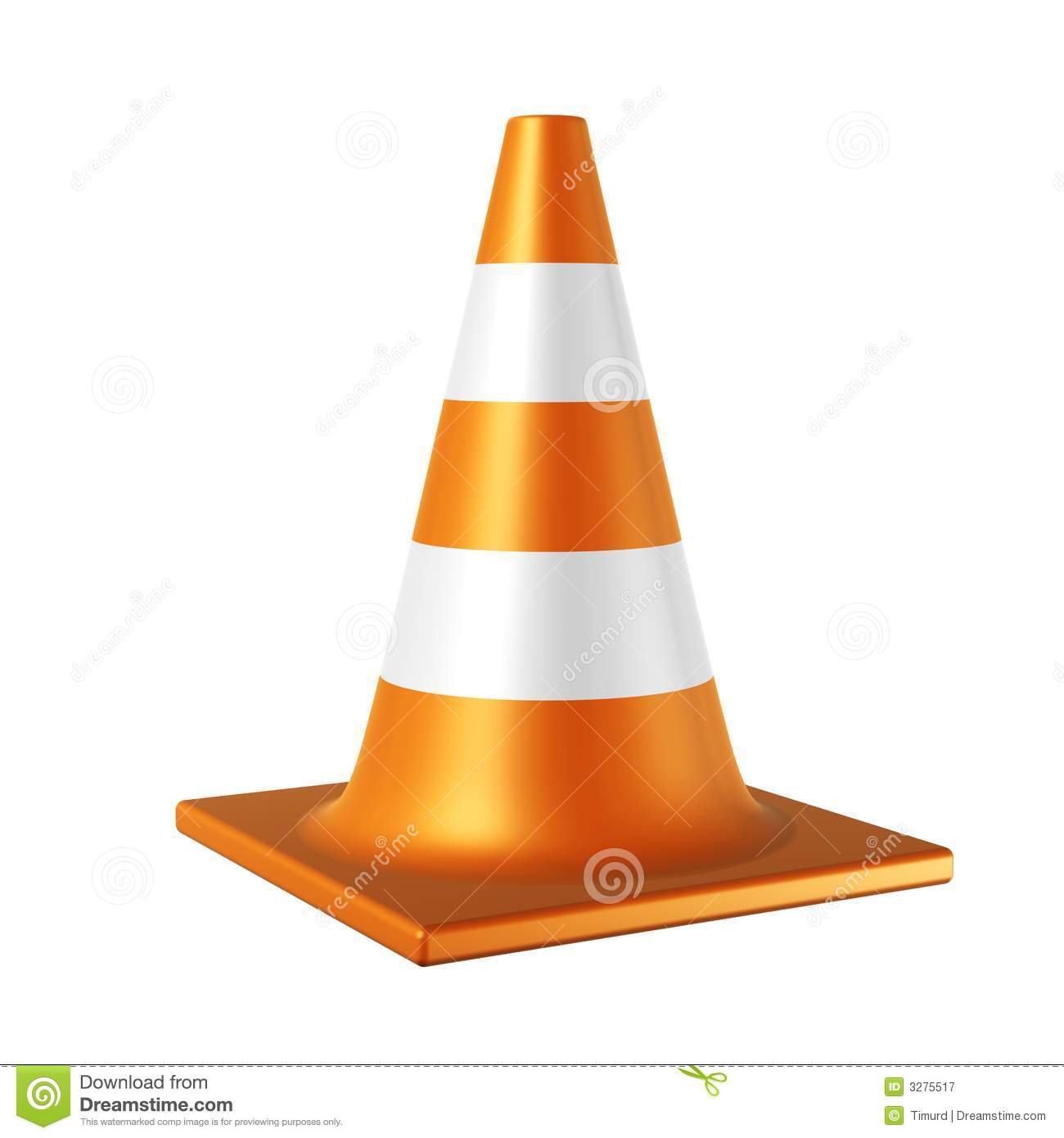 Clip Art Traffic Cone Clipart.