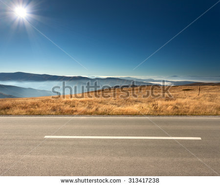 Road Side View Stock Images, Royalty.
