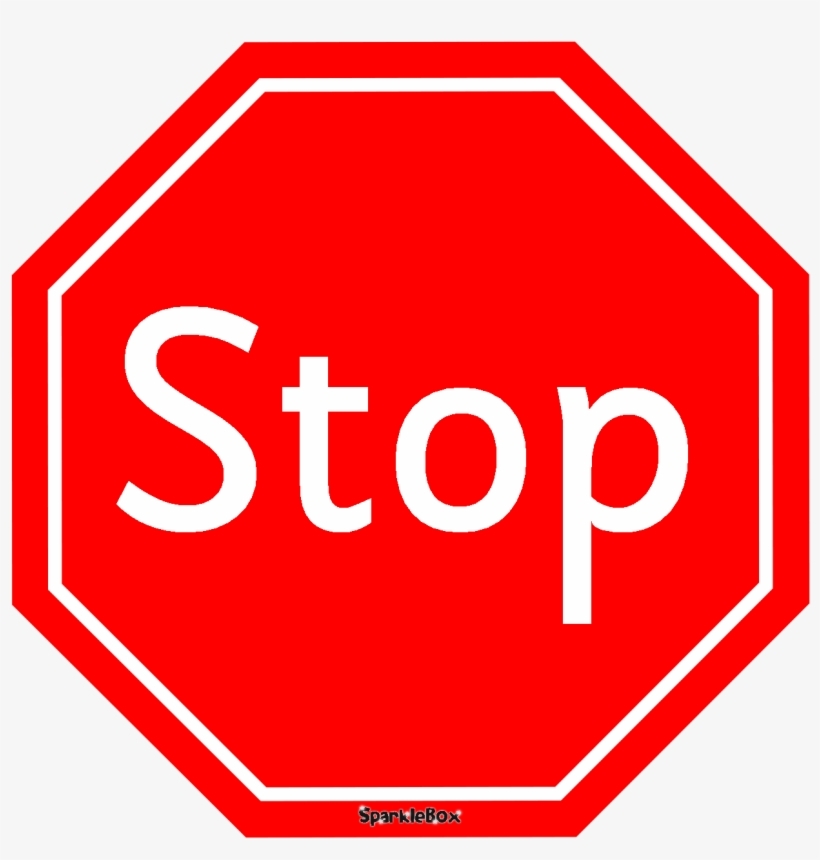 Stop Clipart Road Traffic.