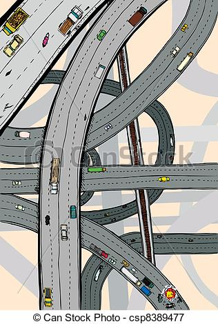 Highways clipart #16