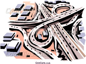 Highways Clipart.