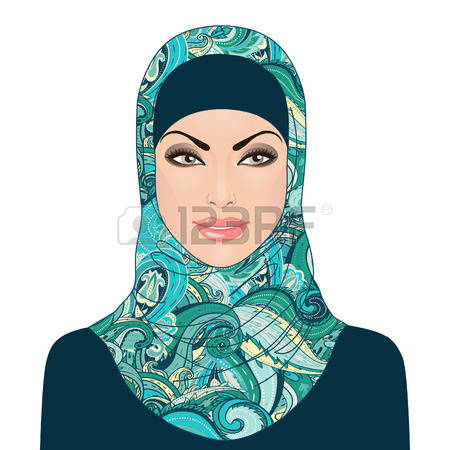 2,158 Hijab Stock Vector Illustration And Royalty Free Hijab Clipart.