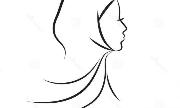 Hijab Silhouette Vector at GetDrawings.com.