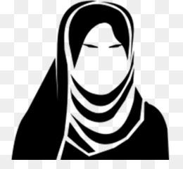 Hijab PNG.