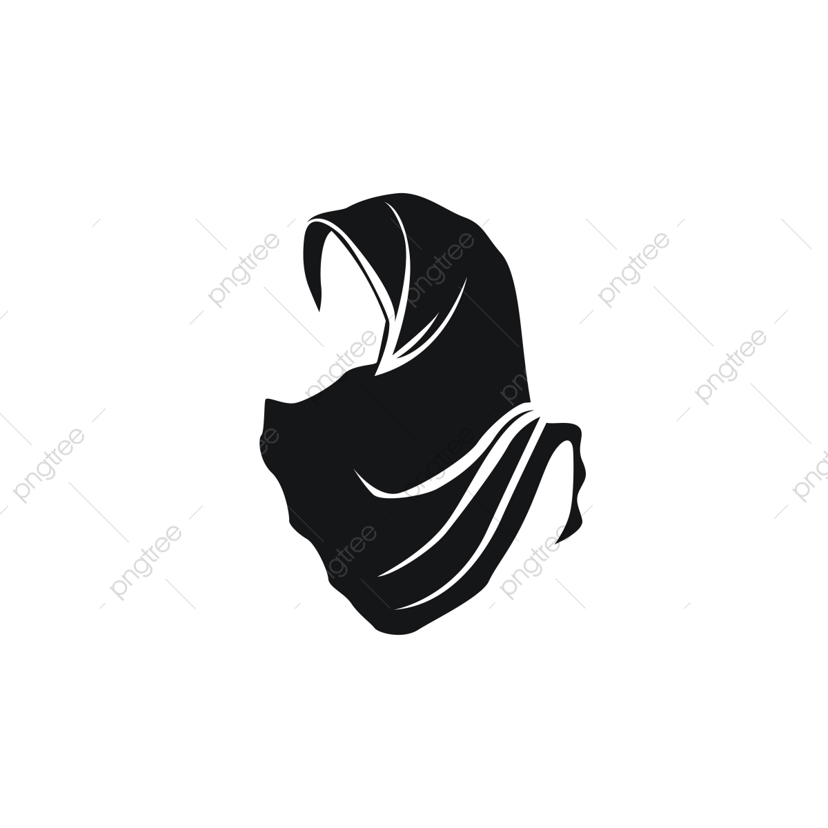 Stock Vector Hijab Logo Vector, Style, Beautiful, Female PNG and.