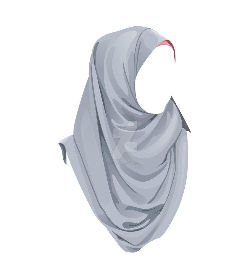 Hijab Vector Png.