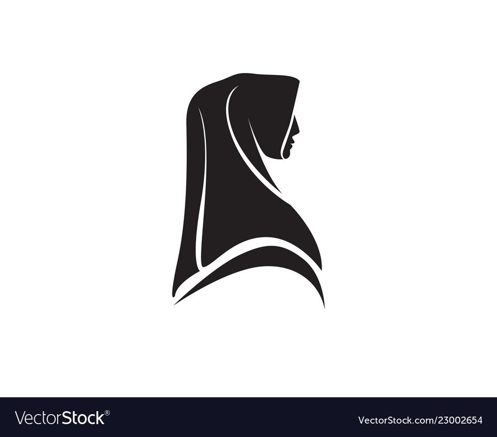 Hijab black logo.