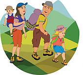Hike Clipart Illustrations. 12,248 hike clip art vector EPS.