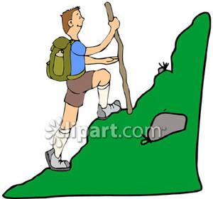 Hiking images clip art.